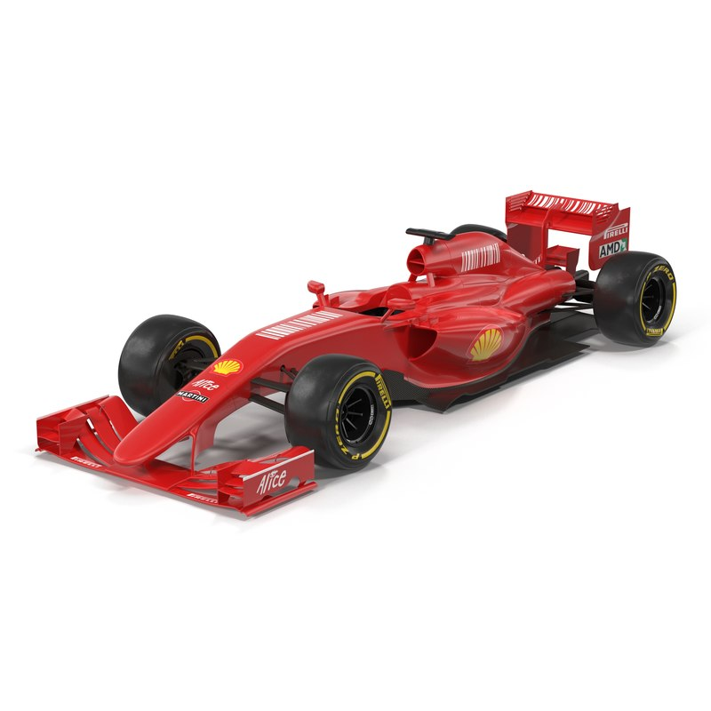 3ds formula car red