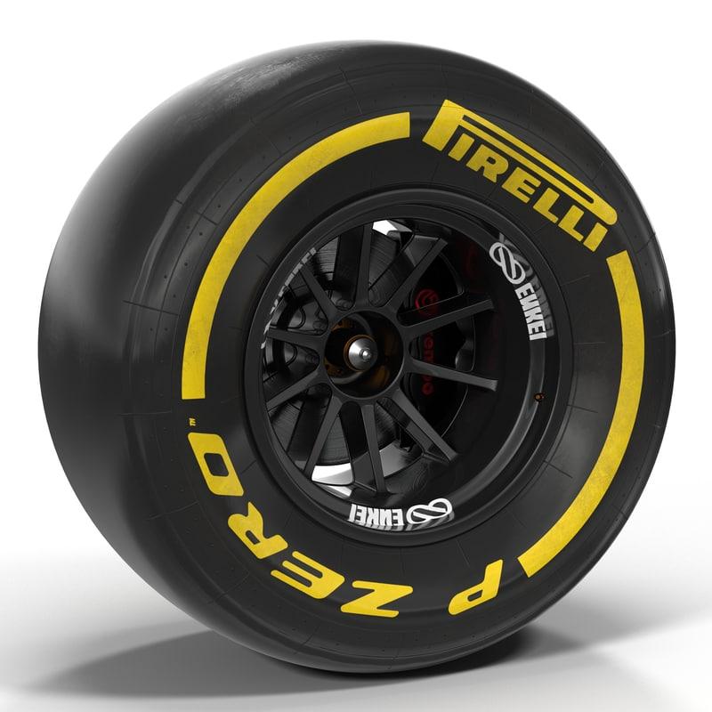 3d formula wheel