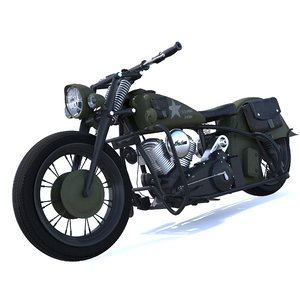 3d model of indian chief