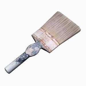 3d used paint brush