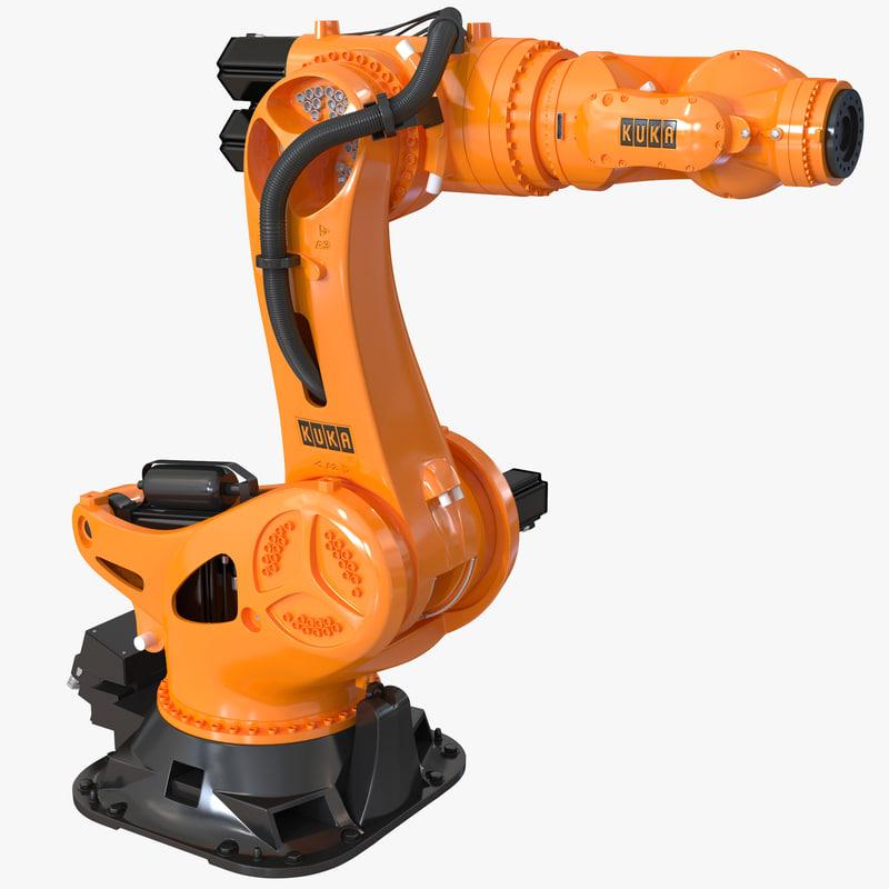 kuka robot titan 3ds