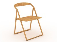 3d patan beech chair model