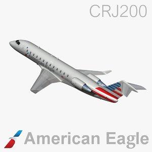 american eagle 3d model
