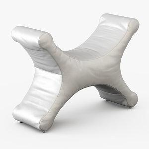 3d model bench bedesign design