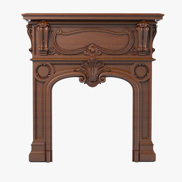 max fireplace art nouveau ecole