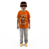 3d fashion clothing children baby s
