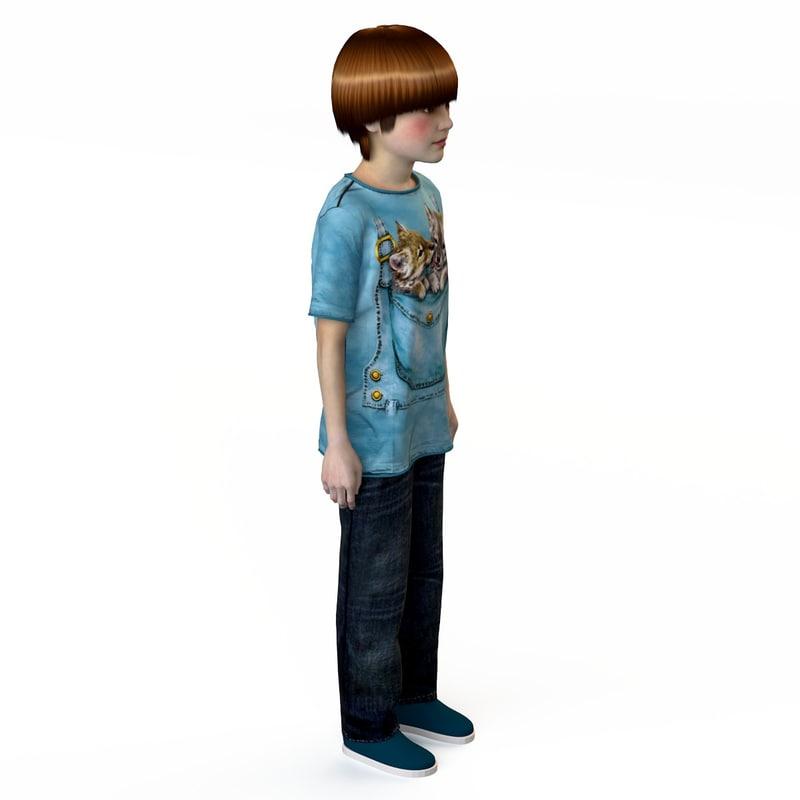 f0df4c642 fashion clothing children baby s 3d max