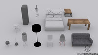 Low Poly Furniture Pack