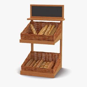 bakery display 5 max