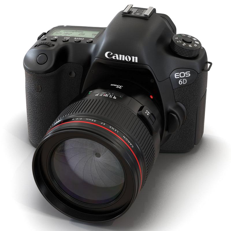 3d canon eos 6d