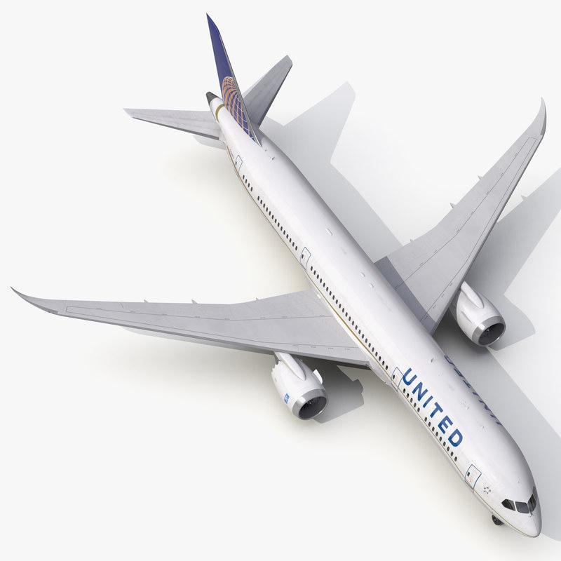 3d boeing 787 9 dreamliner