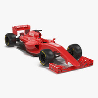 Formula One Car Generic 3D Model