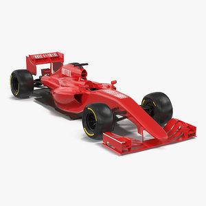 formula car generic 3ds