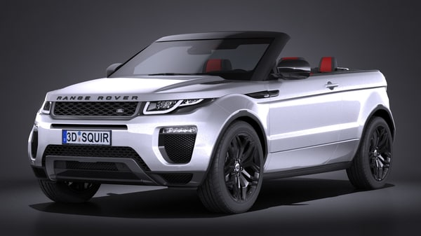 3d model land rover range