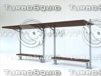 bench camelia kamelya 3d max