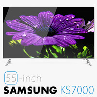3d model of samsung ks7000 suhd 4k