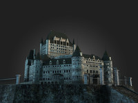 mansion haunted castle 3d model