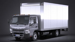 3d mitsubishi fuso box model
