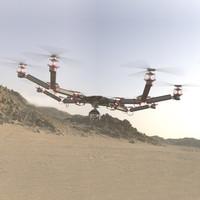 3d model concept drone