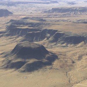 3d large scale arizona terrain