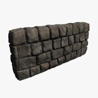 rock wall 3d 3ds