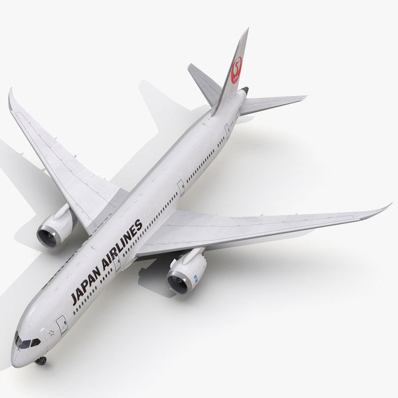 3d model of boeing 787 9 dreamliner