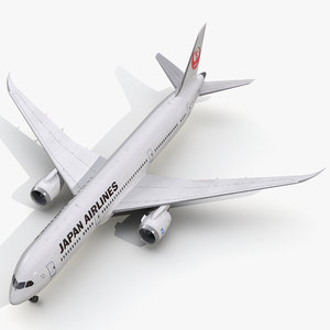3d model of boeing 787 9 dreamliner