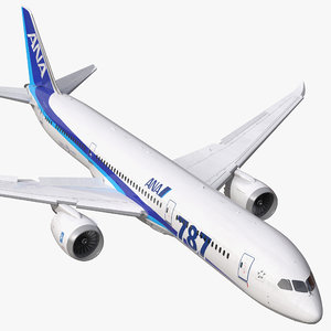 boeing 787 9 dreamliner 3d model
