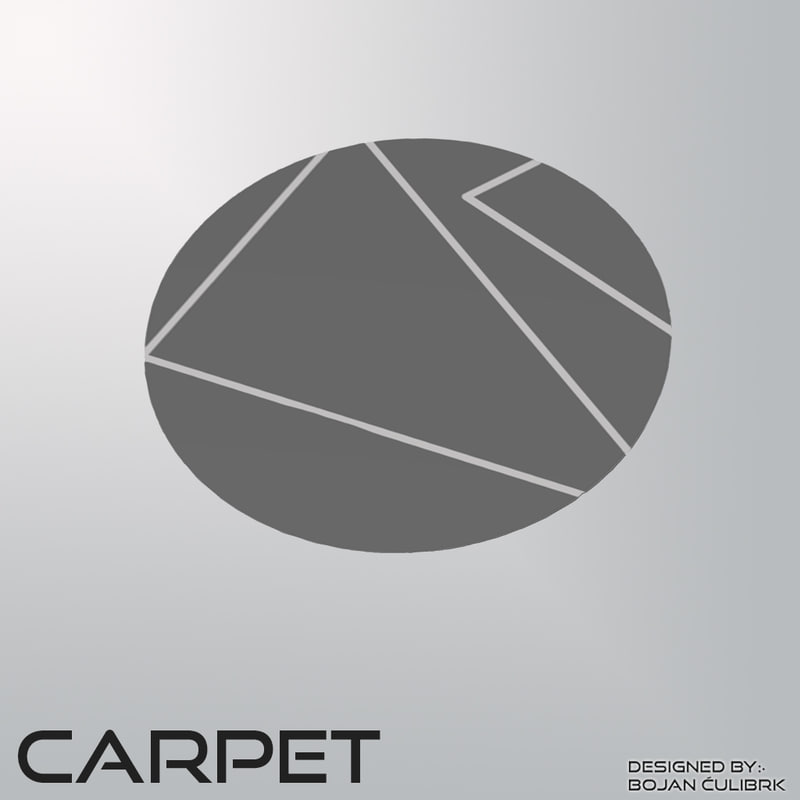 3d model carpet set