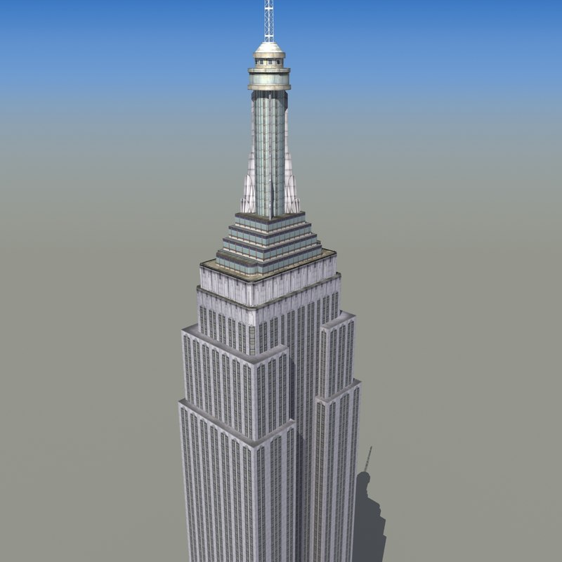 3d empire state model