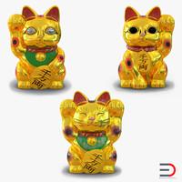 Golden Maneki Neko Collection