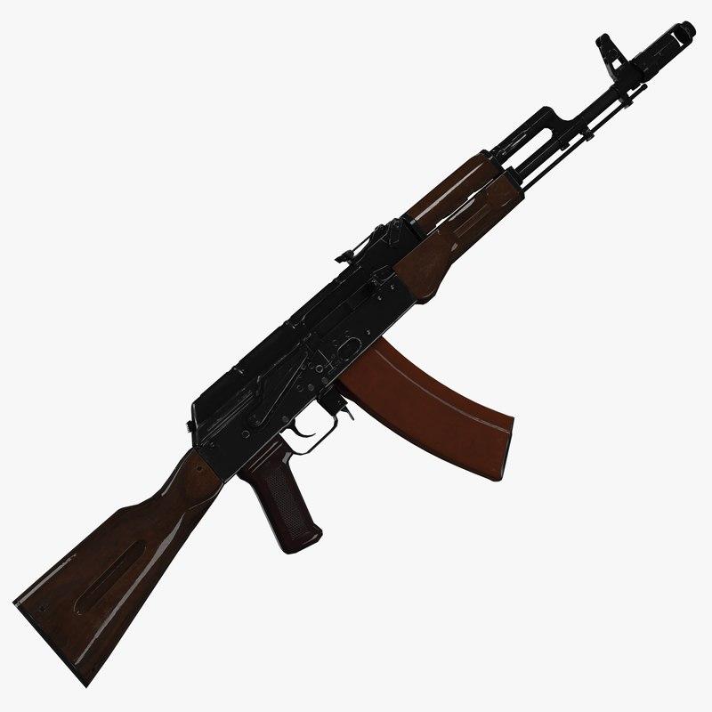 ak-74 ak 74 3d model