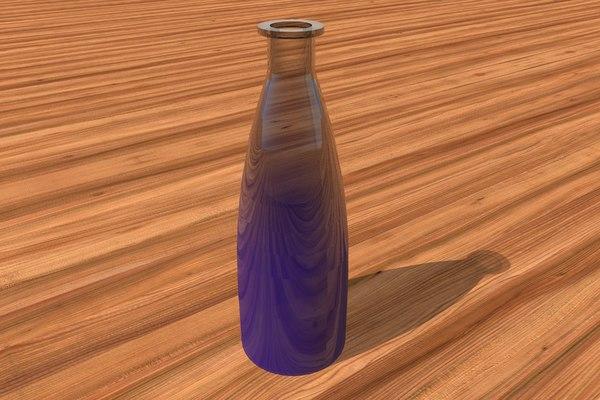 3d dwg glass vase