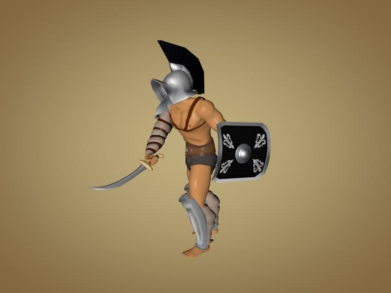 gladiator thraex max