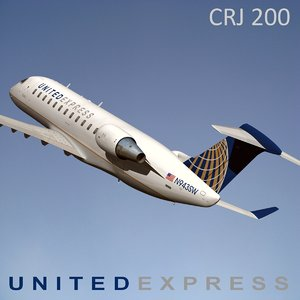 3d model united express