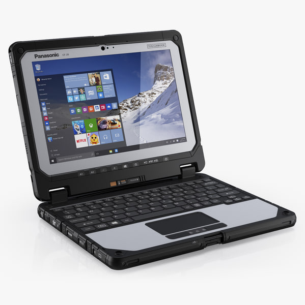 3d panasonic toughbook 20