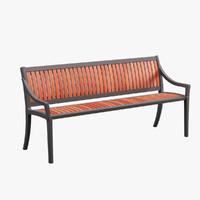 outdoor cordia bench max