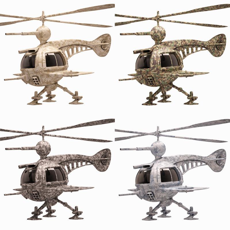 max drone set concept