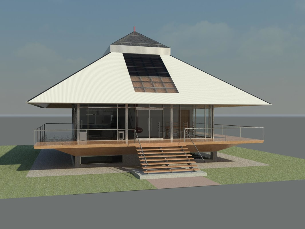 3d chalet house design revit for Home building architecture