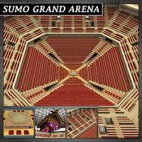 Sumo arena grand hall dojo