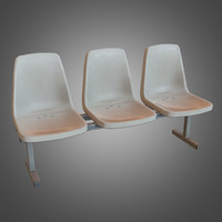 Laundromat Chairs- 02 - PBR Game Ready (2)