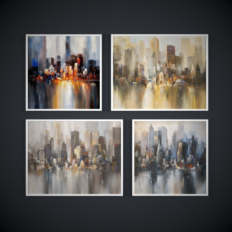 paintings contemporary artists new-york max