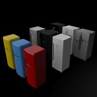 refrigerator 3d 3ds