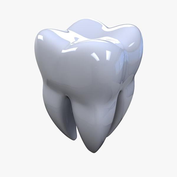 3ds teeth print