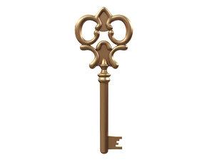key use 3d model