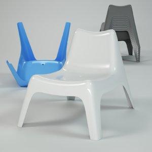 3d outdoor chair ikea ps