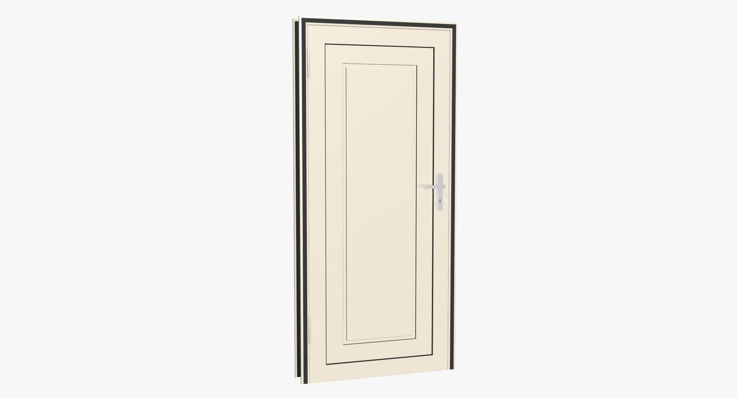 home door 3d model