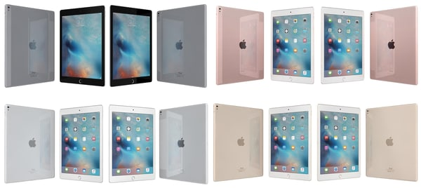 3d model apple ipad pro 9