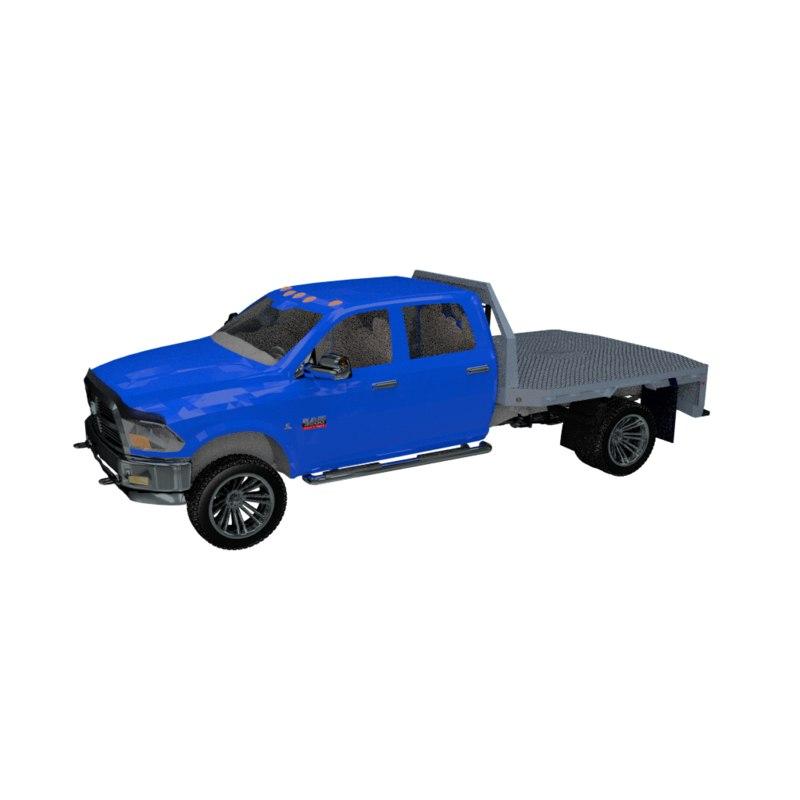 dodge flatbed truck modelers blend