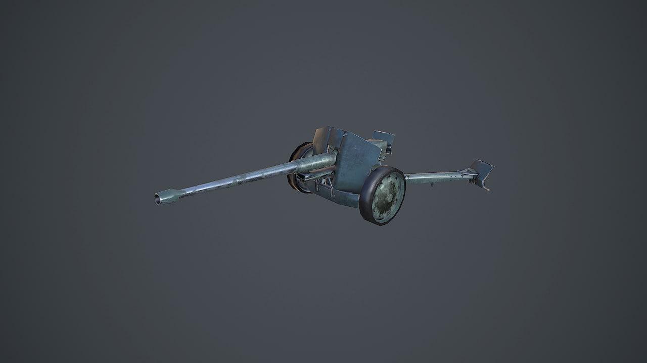 fbx russian military artillery gun